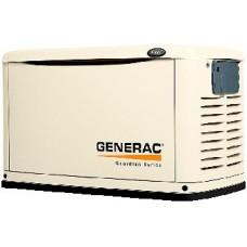 Газовый электрогенератор 10 кВт GENERAC 6270 в кожухе