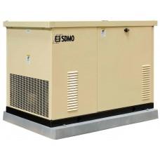 Генератор газовый SDMO RES 13 EC в кожухе